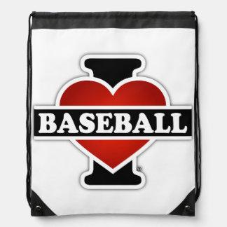 I Liebe-Baseball Sportbeutel