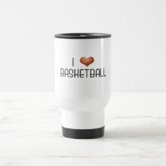 I Liebe-Basketball Reisebecher