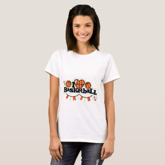I Liebe-Basketball T-Shirt
