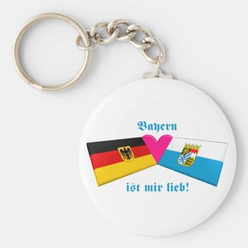 I Liebe-Bayern/Bayern ist-MIR lieb Schlüsselband