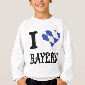 I Liebe Bayern Sweatshirt