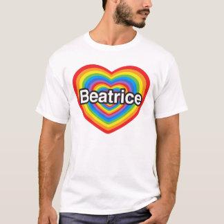 I Liebe Beatrice. Liebe I Sie Beatrice. Herz T-Shirt