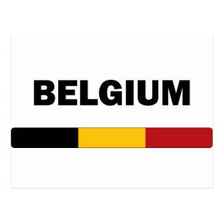 I Liebe Belgien Postkarte