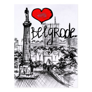 I Liebe Belgrad Postkarten