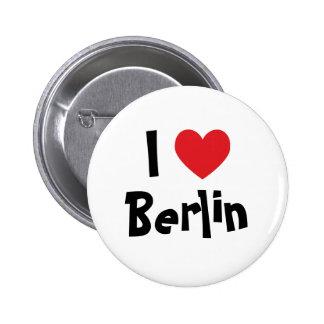 I Liebe Berlin Anstecknadel