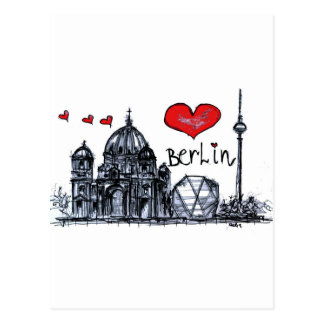 I Liebe Berlin Postkarte