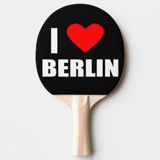 I Liebe Berlin Tischtennis Schläger