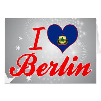 I Liebe Berlin, Vermont Karte