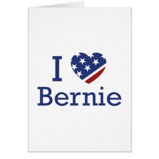 I Liebe Bernie Karte