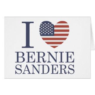 I Liebe-Bernie-Sandpapierschleifmaschinen Karte