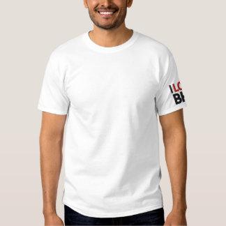 I LIEBE BHS (I-LIEBE BAHAMAS) BESTICKTES T-Shirt