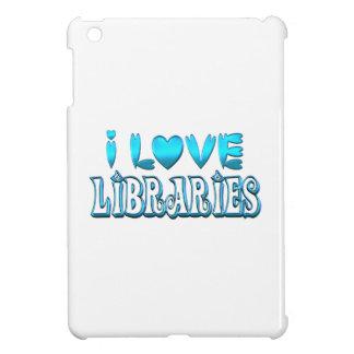 I Liebe-Bibliotheken iPad Mini Hülle