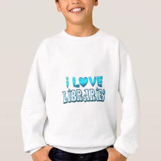 I Liebe-Bibliotheken Sweatshirt