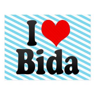 I Liebe Bida, Nigeria Postkarte