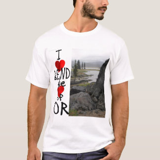 I Liebe-Biegung T-Shirt