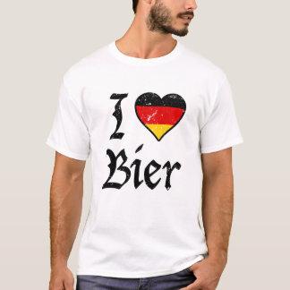 I Liebe-Bier-lustiges deutsches Bier Oktoberfest T-Shirt