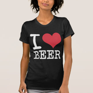 I Liebe-Bier-Produkte u. Entwürfe! T-Shirt
