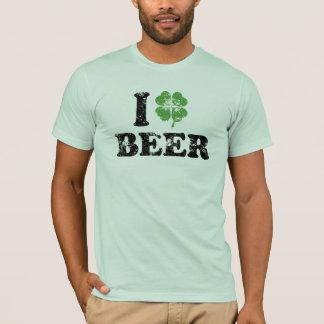 I Liebe-Bier-St Patrick TagesT - Shirt