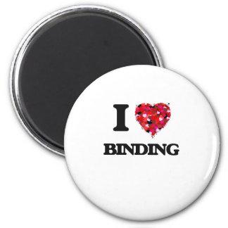 I Liebe-Binden Runder Magnet 5,1 Cm