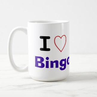 I Liebe-Bingo Tasse