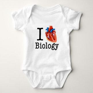 I Liebe-Biologie Baby Strampler