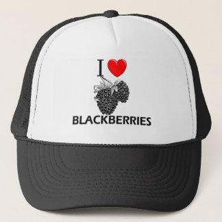 I Liebe-BlackBerry Truckerkappe