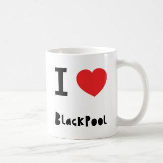 I Liebe Blackpool Kaffeetasse