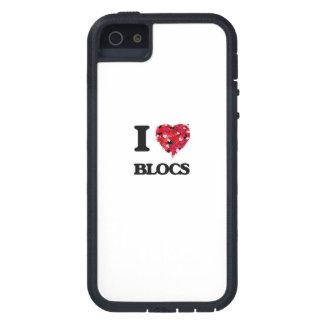 I Liebe-Blöcke iPhone 5 Hüllen