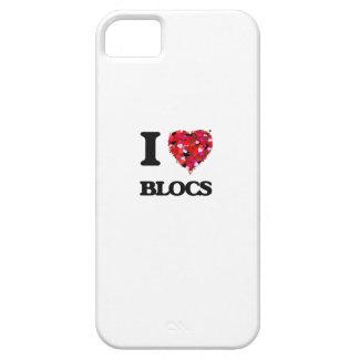 I Liebe-Blöcke iPhone 5 Etui