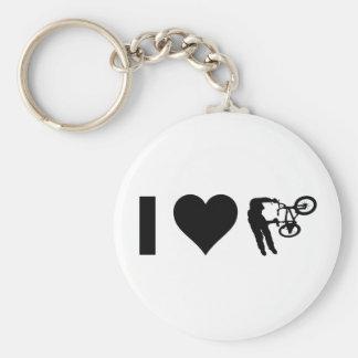 I Liebe BMX Schlüsselanhänger