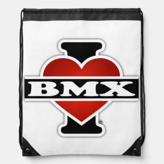 I Liebe BMX Turnbeutel