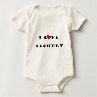 I Liebe-Bogenschießen Baby Strampler