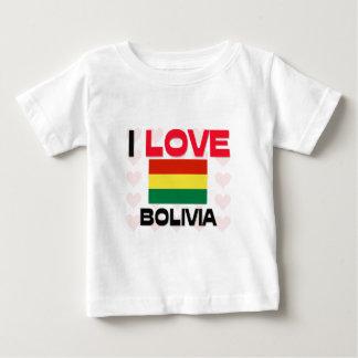 I Liebe Bolivien Baby T-shirt