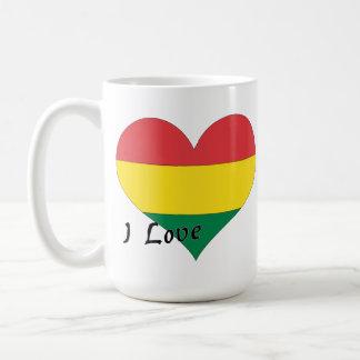I Liebe Bolivien Kaffeetasse