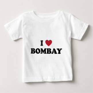 I Liebe Bombay Indien Baby T-shirt