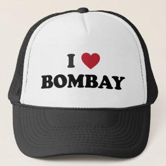 I Liebe Bombay Indien Truckerkappe