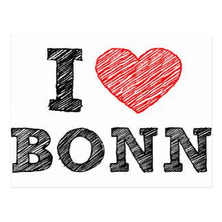 I Liebe Bonn Postkarten