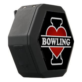 I Liebe-Bowling Schwarze Bluetooth Lautsprecher