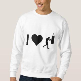 I Liebe-Boxen Sweatshirt