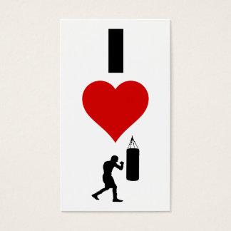 I Liebe-Boxen (Vertikale) Visitenkarte