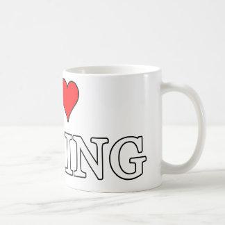 I Liebe-boxende Tasse