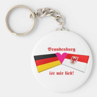 I Liebe-Brandenburg ist-MIR lieb Standard Runder Schlüsselanhänger