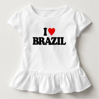 I LIEBE BRASILIEN KLEINKIND T-SHIRT