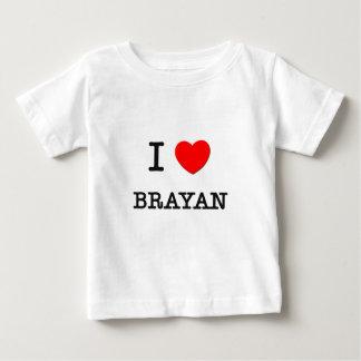 I Liebe Brayan Baby T-shirt