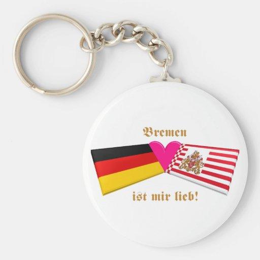 I Liebe-Bremen ist-MIR lieb Schlüsselanhänger