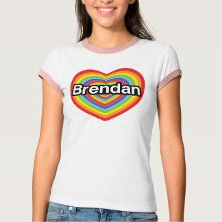 I Liebe Brendan: Regenbogenherz T-Shirt