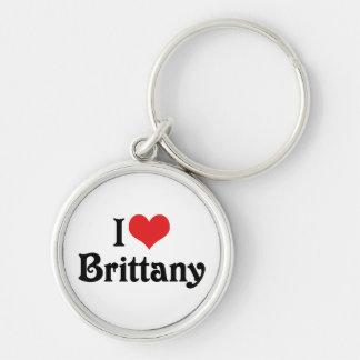 I Liebe Bretagne Schlüsselanhänger