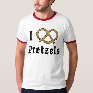 I Liebe-Brezeln T-Shirt