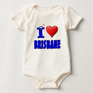 I LIEBE BRISBANE BABY STRAMPLER