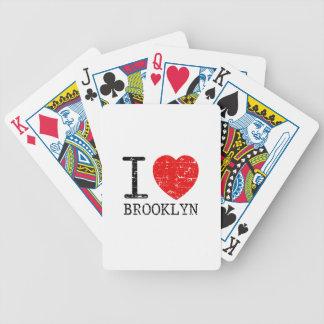 I Liebe Brooklyn Bicycle Spielkarten